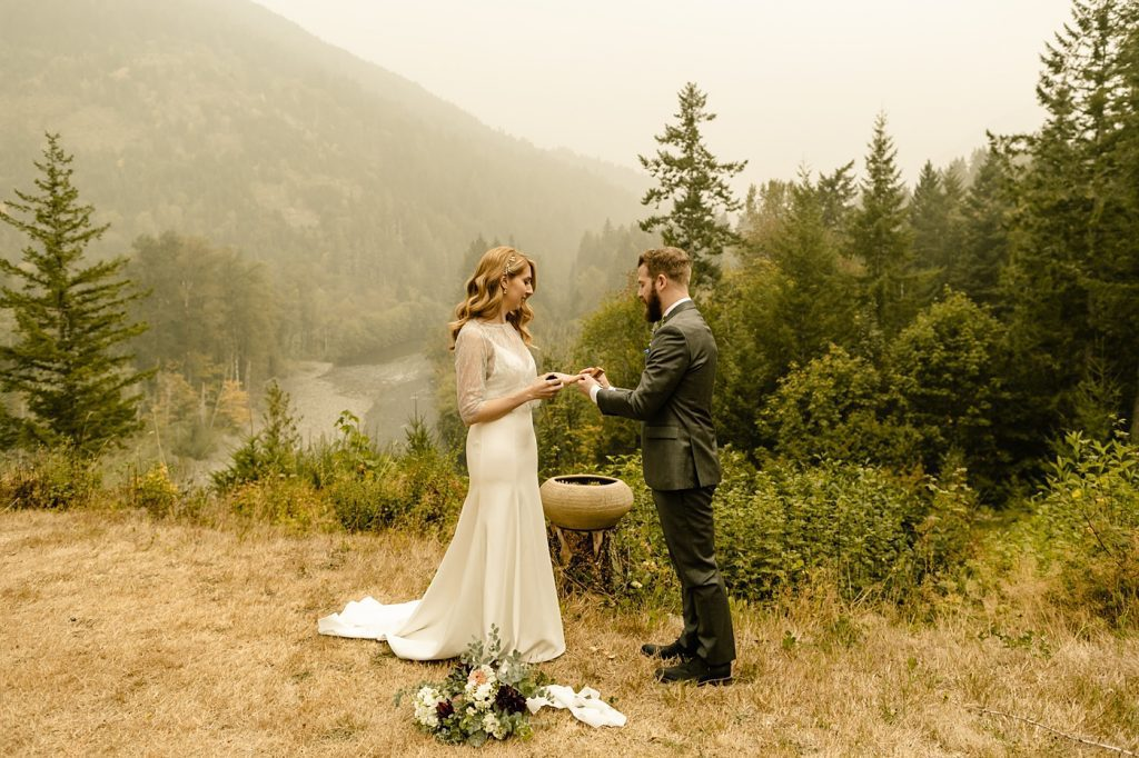 Seattle's Best Airbnb's for Elopements photographer officiant organic ceremony