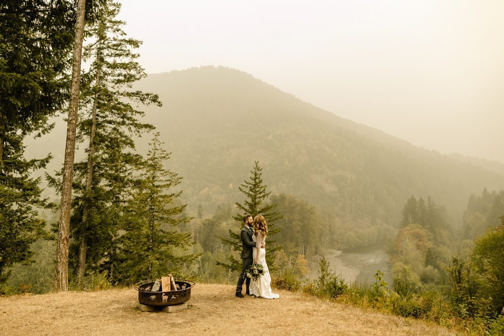 elopement ceremony in the mountains photographer officiant
