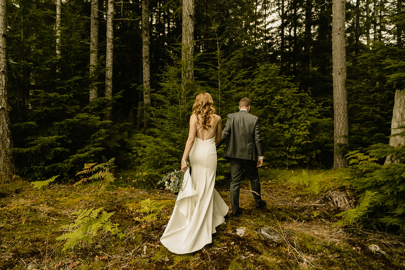 adventure elopement BHLDN gown wedding photographer