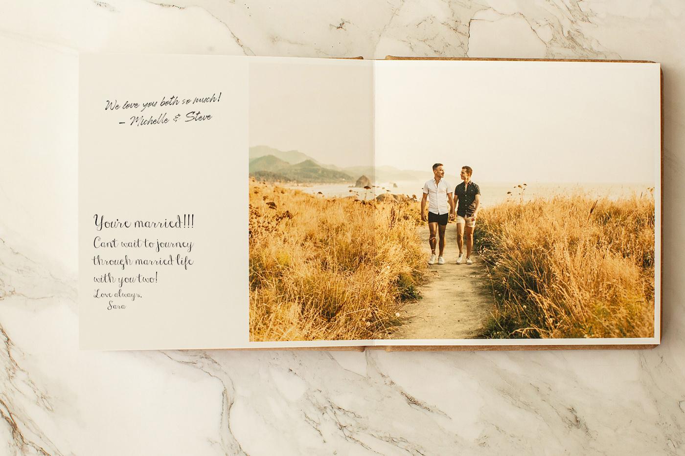 engagement photos unique guest book ideas for your wedding
