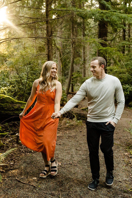 Washington State engagement photos