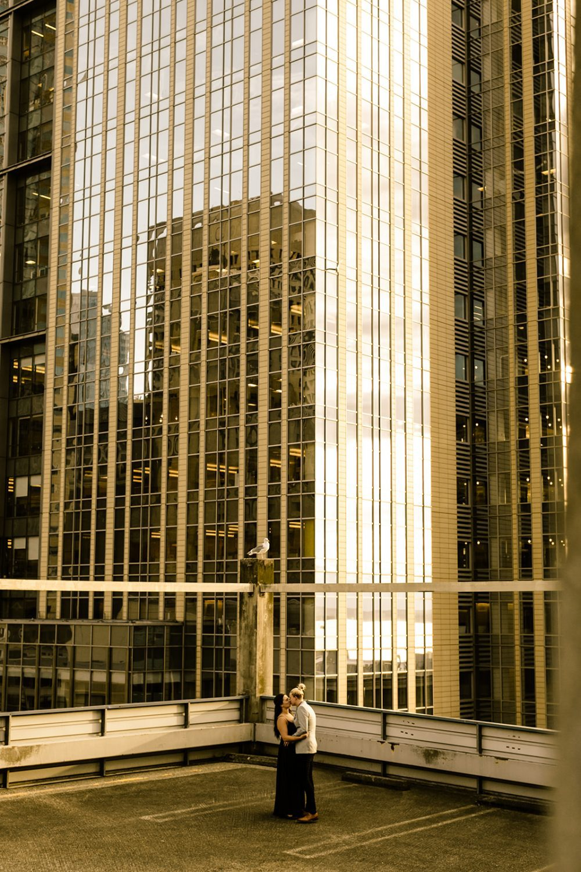 Downtown Seattle Washington Engagement Photos