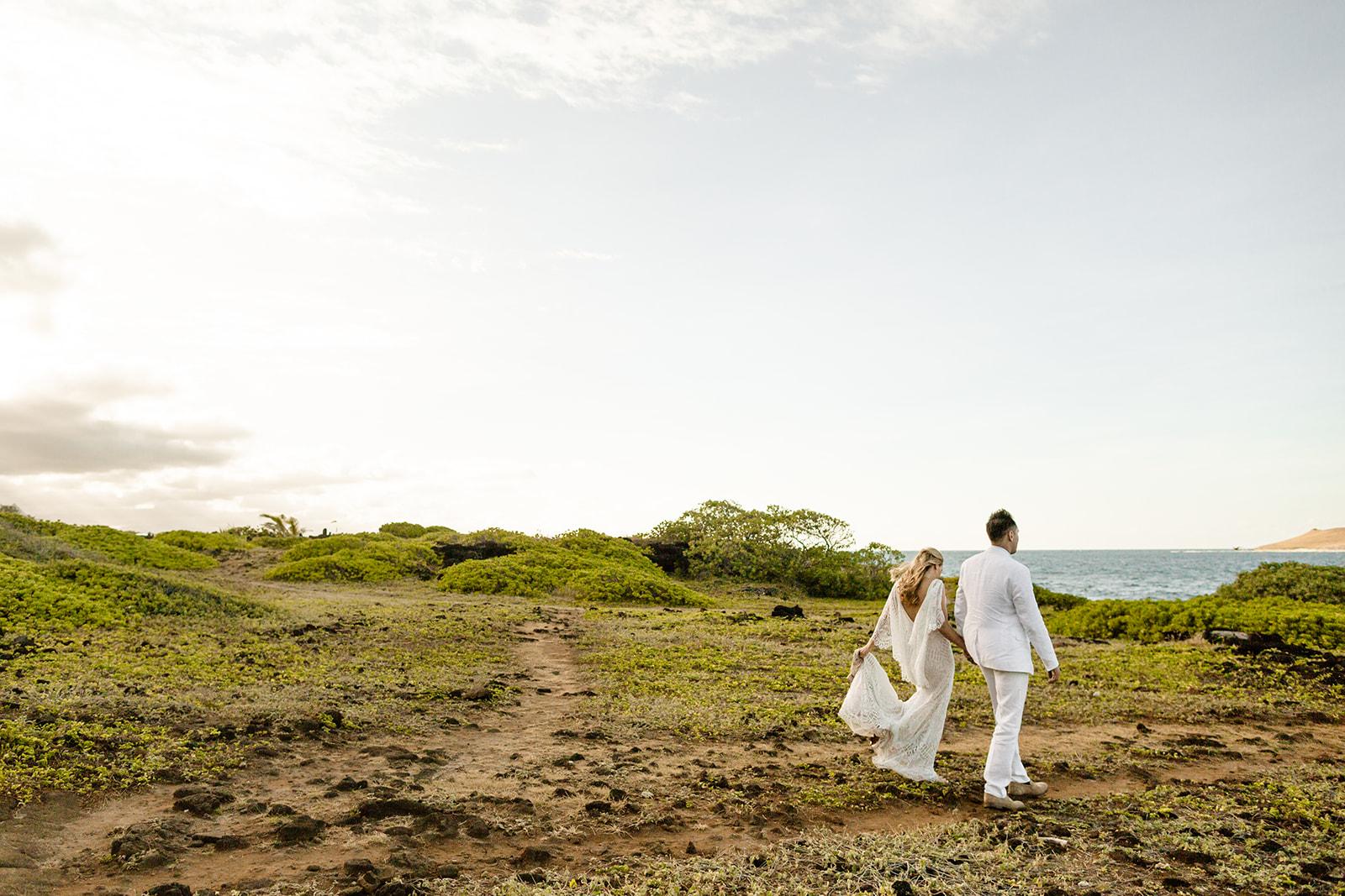 Oahu, Hawaii Elopement Photographer